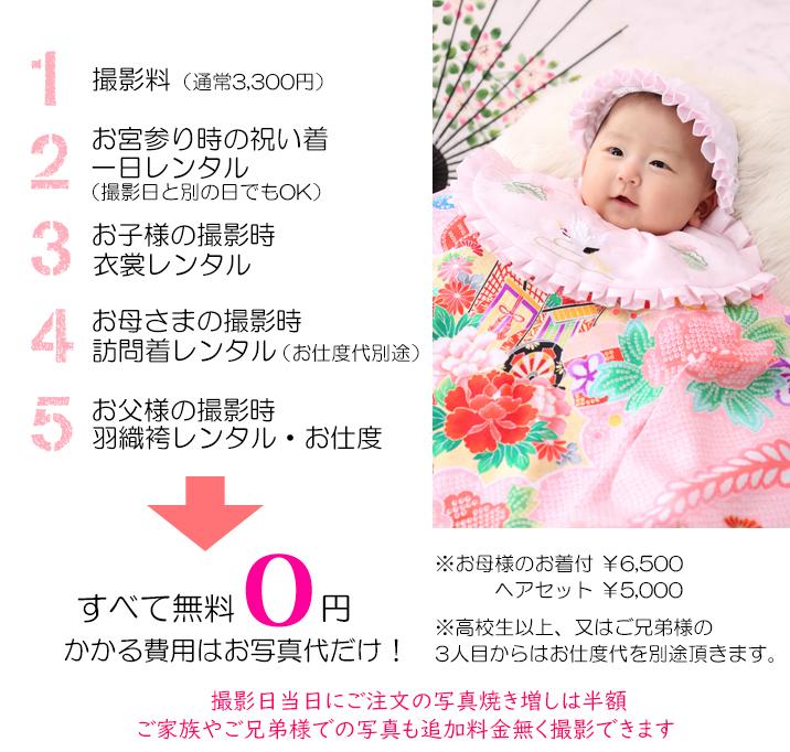 お宮参り・百日祝い画像01
